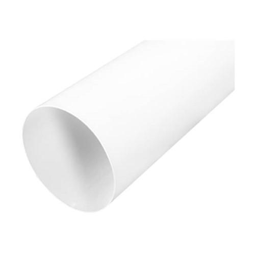 Wit gelakte buis diameter 125mm L=1000