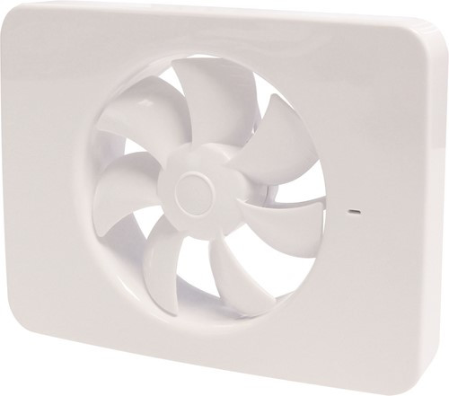 Vent-Axia Lo-Carbon iQ platte design badkamerventilator Ø 100 - 125