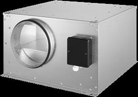 Ruck geïsoleerde boxventilator met EC-motor (ISOR EC)