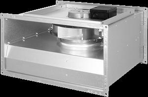 Ruck ongeïsoleerde kanaalventilator met EC-motor (KVR EC)