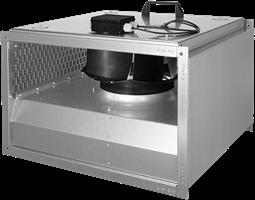 Ruck geïsoleerde kanaalventilator met EC-motor (KVRI EC)