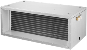 Rechthoekige koel- en warmtebatterij