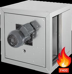 Ruck rookgas-boxventilator met lineaire airflow en motor buiten de luchtstroom 4510 m³/h (MPC 400 D2 F4 TI 30)