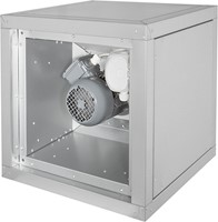 Afzuigbox met draaistroommotor buiten de luchtstroom (MPC D T)