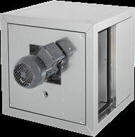 Horeca boxventilator met frequentiegestuurde motor en lineaire luchtstroom