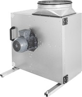 Afzuigbox met spanningsregeling en draaistroommotor (MPS D)