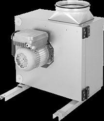 Ruck boxventilator met spanningsregeling en EC motor buiten de luchtstroom 2850 m³/h (MPS 250 EC 30)
