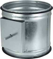 Spiro-SAFE motorbediende regelklep diameter  150 mm (sendz. verz.)