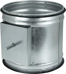 Spiro-SAFE motorbediende regelklep Ø 100 mm (sendz. verz.)