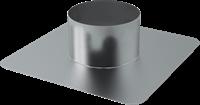 Plakplaat voor dakdoorvoer Ø 315 mm (aluminium gelast)
