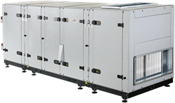 Luchtbehandelingskast CLIMA ROVENT 125 warmtewiel (11000 m³/h @250Pa)