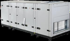 Luchtbehandelingskasten CLIMA ROVENT serie tot 25000 m³/h (warmtewiel)