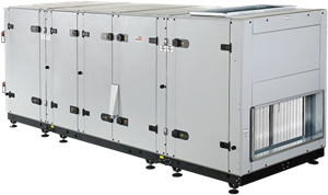 Luchtbehandelingskasten Eneko EROVENT serie tot 25000 m³/h (warmtewiel)