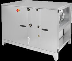 Ruck ROTO luchtbehandelingskast met warmtewiel - links - zonder voorverwarmer - DV koeler - 3830 m³/h (ROTO K 2800 H ODJL)