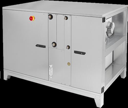 Ruck ROTO luchtbehandelingskast met warmtewiel - links - zonder voorverwarmer - DV koeler - 10500 m³/h (ROTO K 7600 H ODJL)