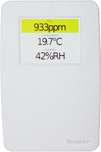 Complete CO2 regelaar met display (TSENSE-D) (070-8-0001)