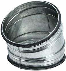 Spiro-SAFE bocht 125 mm 30 graden (sendz. verz.)