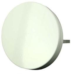 Toevoerventiel metaal Ø 80 mm wit met klemveren - design (TFF80)