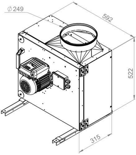 Technische tekening 65143072 MPS EC