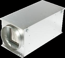 Luchtfilterbox met warmteregister