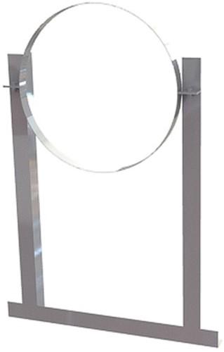 Aluminium dakbeugel voor buis Ø 500 mm