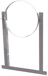 Aluminium dakbeugel voor buis Ø 160 mm