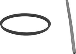 Afdichtingsrubber diameter  400 mm VITON