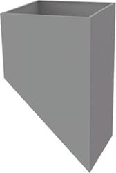 Itho Daalderop schoorsteen tussenkast hellend (15-60 graden)