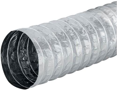 Aludec 125 mm ongeïsoleerd flexibele slang (5 meter)