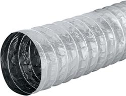 Aludec 252 mm ongeisoleerd flexibele slang (10 meter)