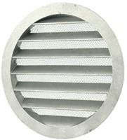 Buitenlucht ventilatieroosters aluminium Ø 160mm (MRA160)