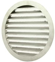 Buitenlucht ventilatieroosters aluminium Ø 250mm (MRA250)