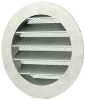 Buitenlucht ventilatieroosters aluminium Ø 80mm (MRA80)