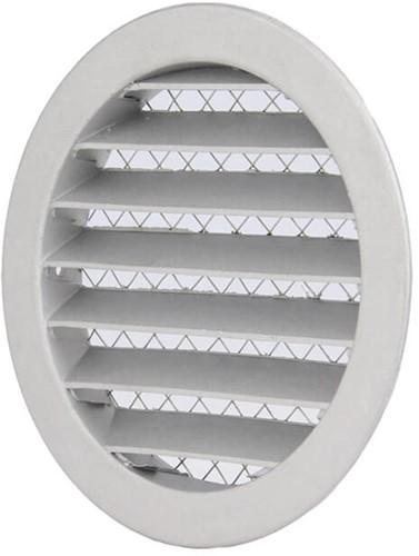 Buitenlucht ventilatieroosters aluminium Ø 100mm (MRA100)