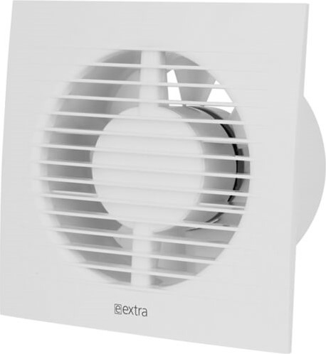 Badkamer ventilator 100 mm Wit met timer en vochtsensor - EE100HT