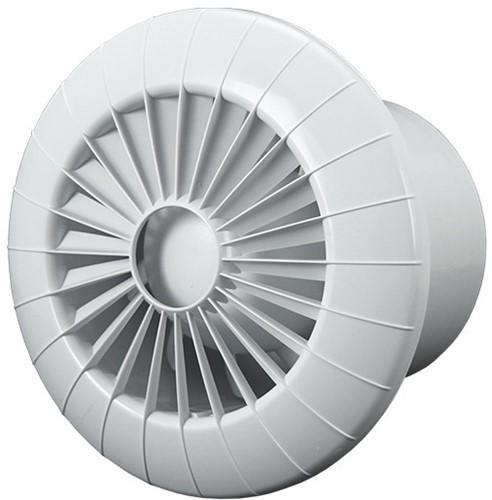 Badkamerventilator 100 mm Wit - aRid 100 BB TS