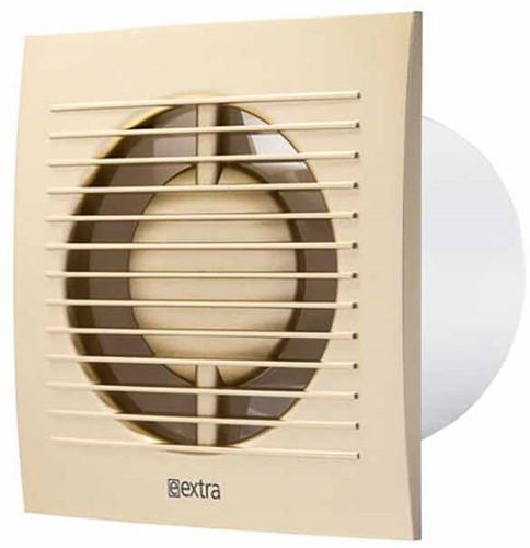 Badkamer ventilator 100 mm Goud met timer en vochtsensor - EE100HTG