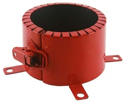 Brandmanchet voor buis 110 mm opbouw 4u astroflame