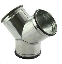 Spiro-SAFE broekstuk diameter 100 mm - 100 mm (45 graden) (sendz. verz.)
