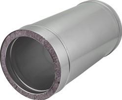 DW diameter  100 mm (100/150) buis L1000 I316L/I304 (D0,5/0,6)