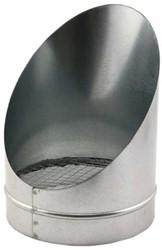Buisrooster Ø 150 mm 45 graden (sendz. verz.)