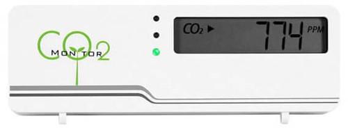 CO2 meter - air indicator compact inclusief temperatuur weergave