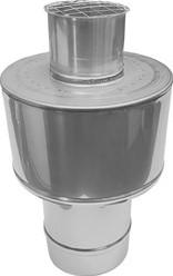 Concentrische diameter  60 - 100 mm kap I316L/I304 (D0,5/D0,6)
