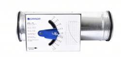 Ronde constant volumeregelaar Ø 200mm - 380-960m³/h (CRSL-200)
