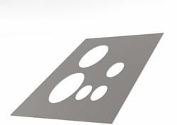 Alfa Compact alu dakbeschotplaat plat luchtdicht