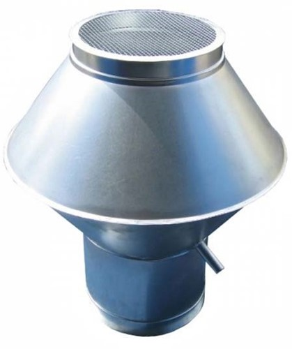 Deflectorkap diameter  630 mm (dikte: 0,9 mm)