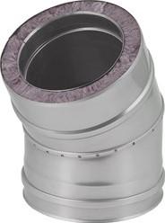 DW diameter  350 mm (350/400) bocht 30 gr I316L/I304 (D0,5/0,6)