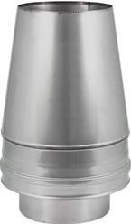 DW diameter  150 mm (150/200) Conische top I316L/I304 (D0,5/0,6)
