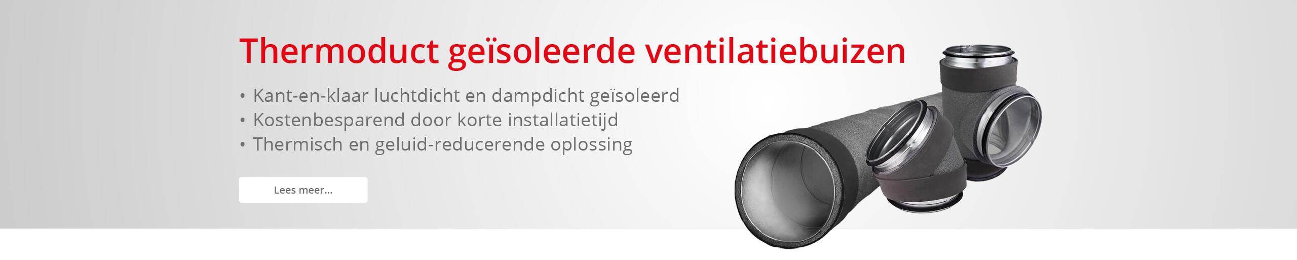 Thermoduct geïsoleerde ventilatiebuis