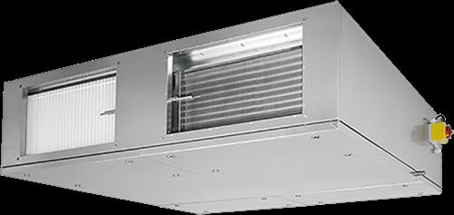 Ruck ETA-F WTW luchtbehandelingskast met externe verwarmer 2430m³/h Rechts (ETA K 1600 F EOJR)